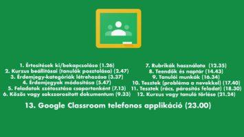 Hogyan használd a Google Classroomot? 4. rész