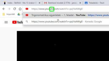 YouTube videó letöltése