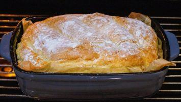 Házi kenyér sütése